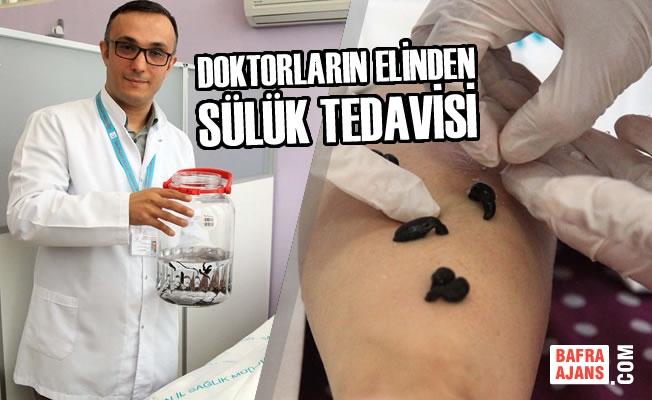 Doktorların Elinden Sülük Tedavisi