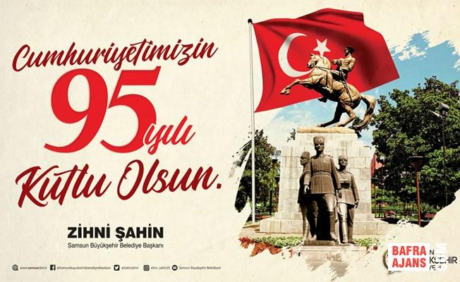 Samsun Büyükşehir'den Cumhuriyet Coşkusu