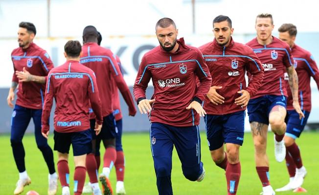 Trabzonspor, Akhisarspor maçı hazırlıklarını sürdürdü