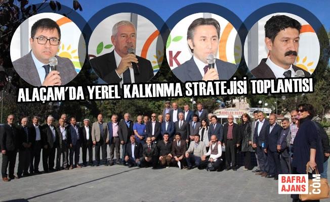 Alaçam'da Yerel Kalkınma Stratejisi' Toplantısı Yapıldı