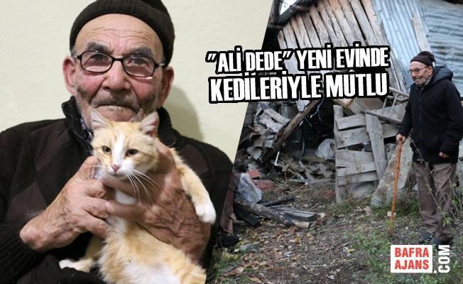 """""""Ali Dede"""" Yeni Evinde Kedileriyle Mutlu"""