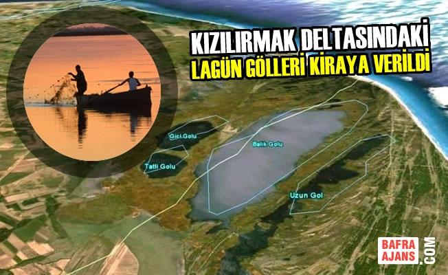Kızılırmak Deltasındaki Lagün Gölleri Kiraya Verildi