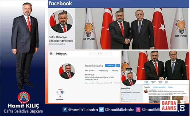 Başkan Kılıç'ın Sosyal Medya Hesaplarına Yoğun İlgi