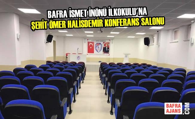İsmet İnönü İlkokulu'na Şehit Ömer Halisdemir Konferans Salonu