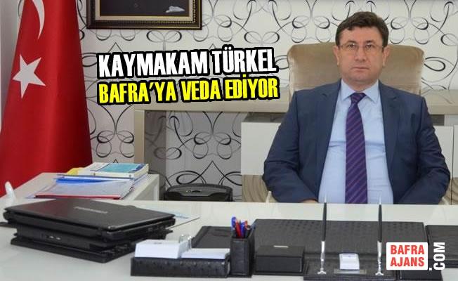 Kaymakam Ali Fuat Türkel, Bafra'ya Veda Ediyor