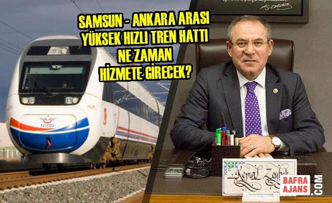 Yüksek Hızlı Tren Hattı Ne Zaman Hizmete Girecek?
