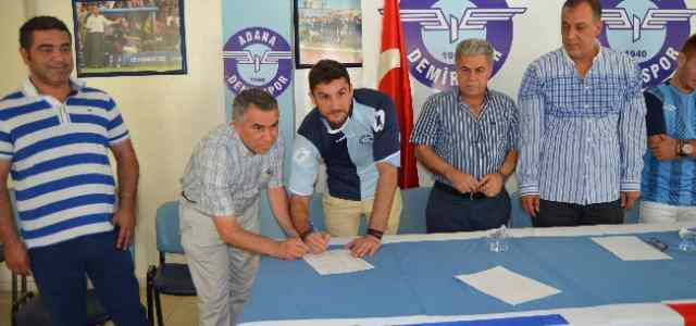 Adana Demirspor'da 3 İmza Daha