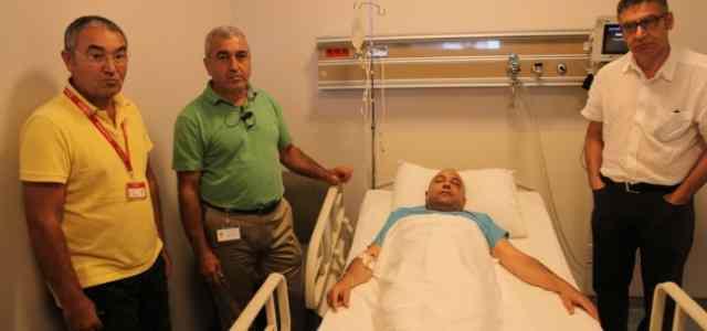 Adana'da Darp Edilen Doktor Yoğun Bakıma Alındı