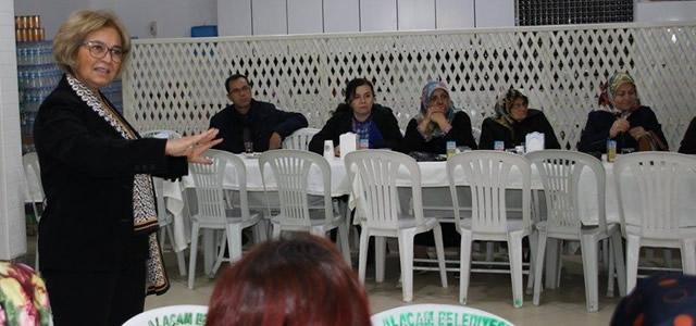 Alaçamlı Kadınlarla LEADER Bilgilendirme Toplantısı