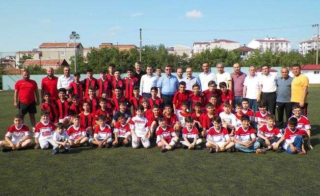 1930 Bafraspor Futbol Yaz Okulu'na Yoğun İlgi