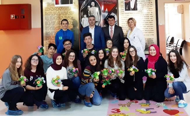Bafra Fen Lisesi Çocuk Hakları Gününde Çocuklarla