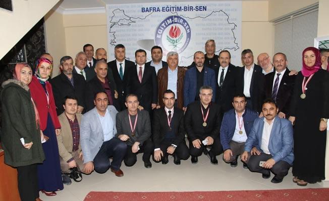 Bafra'da Öğretmenler Günü Kutlaması
