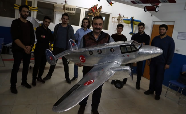 Türkiye'nin İhraç Ettiği İlk Uçağın Prototipi Yapıldı