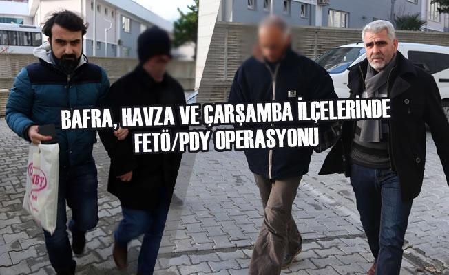 Samsun'da FETÖ/PDY Operasyonu; 18 Şüpheli Gözaltına Alındı