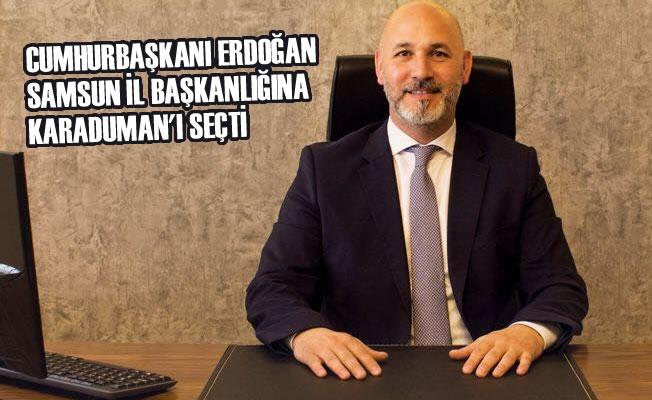 Cumhurbaşkanı Erdoğan Samsun'da Karaduman'ı Seçti