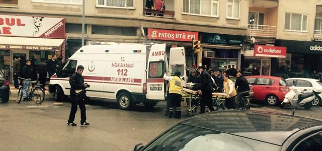 Asansör Boşluğuna Düşen Kadın Yaralandı