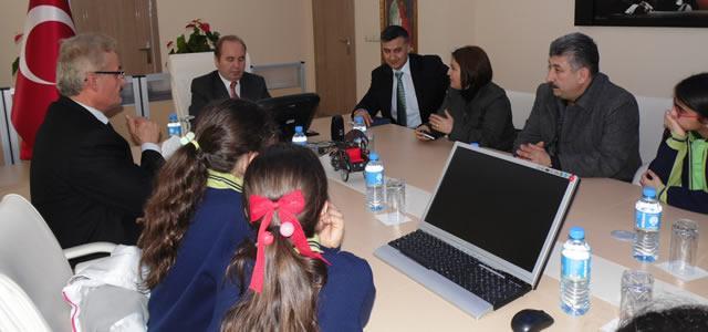 Atatürk Ortaokulu'ndan Eko-Okul Projesi Brifingi