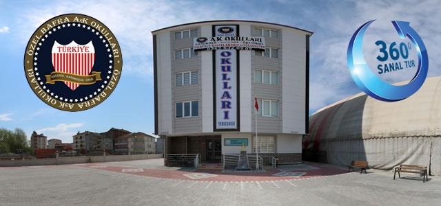 Bafra AK Okulları 360 Derece Sanal Tur Uygulaması