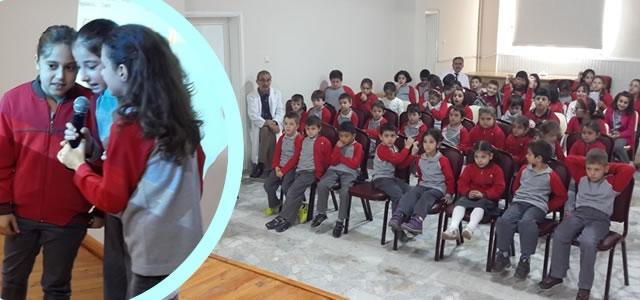 Bafra Koleji Öğrencileri Cumhuriyet Bayramını Kutladı