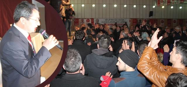 Bafra MHP'de Hüseyin Acar Yeniden Başkan