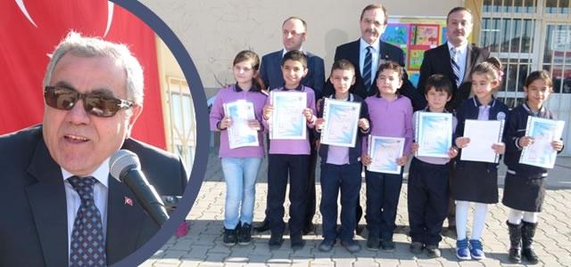 Bafra'da 31 Bin Öğrenci'nin Karne Sevinci
