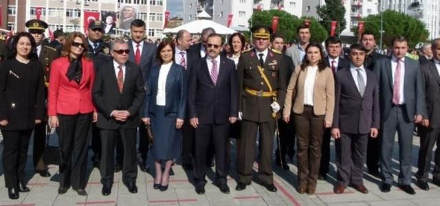 Bafra'da Cumhuriyet Bayramı Kutlandı