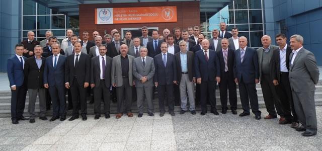 Bafra'da Muhtarlarla İstişare Toplantısı Yapıldı