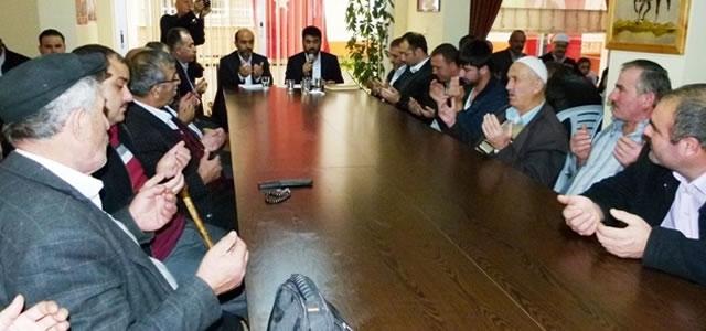 Bafra'da Şehitler İçin Mevlit Okutuldu