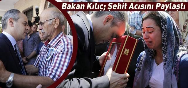 Bakan Kılıç; Şehit Polisin Cenazesine Katıldı