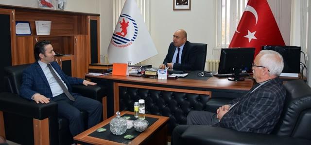Başkan Kıyma'dan Prof. Dr. Demiryürek' e Hayırlı Olsun Ziyareti