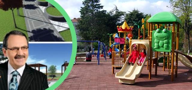 """Başkan Şahin; """"40 Çocuk Oyun Parkı Yapıyoruz"""""""