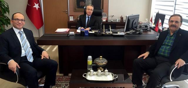 Başkan Şahin; Başkentte Bir Dizi Ziyarette Bulundu