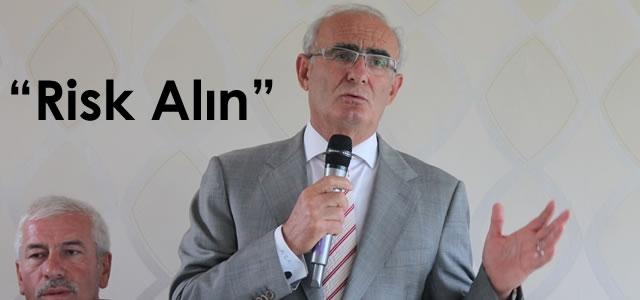 Başkan Yılmaz Alaçam'da Muhtarlara Seslendi