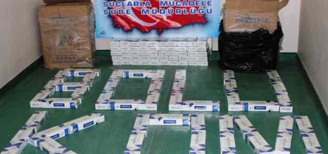 Bolu'da Gümrük Kaçağı 8 Bin 340 Paket Sigara Ele Geçirildi