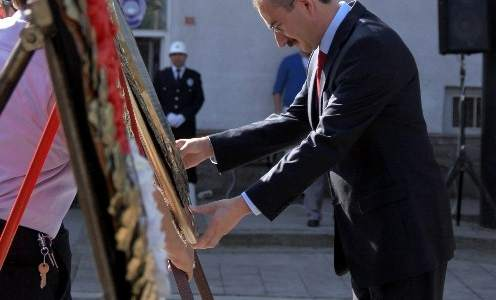 Çarşamba'da Gaziler Günü Töreni