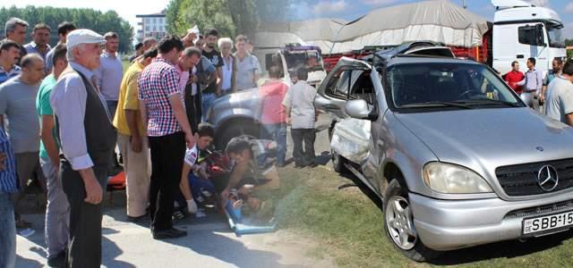 Çarşamba'da Trafik Kazası: 1 Ölü, 5 Yaralı