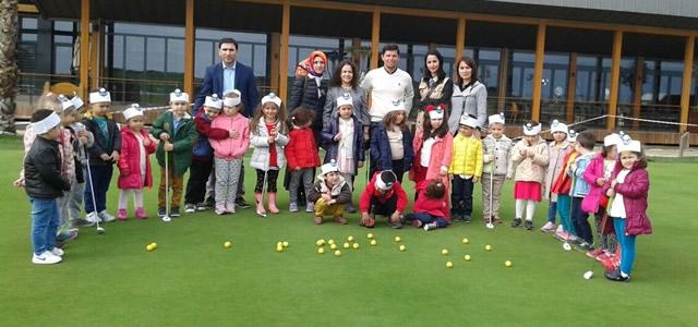 Çarşambalı Minikler Golf İle Tanıştı