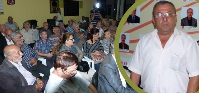 CHP Bafra Örgütü İstişare Toplantısı Yaptı