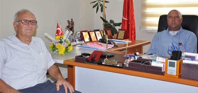 Eski Başkan Yılmaz Erel'den Eroğlu'na Ziyaret