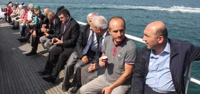 Gaziler Samsunum-1 Gemisi İle Karadeniz'e Açıldı