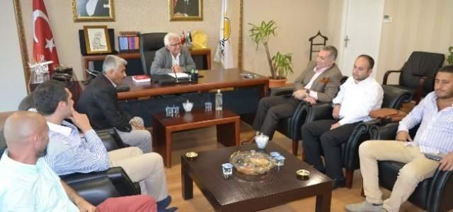 İstanbul Milletvekili Külünk'ten İl Başkanlığına Ziyaret