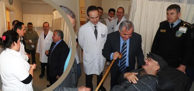 Kaymakam Arslan'dan Devlet Hastanesi Acil'e Ziyaret