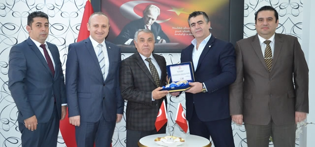 Kızılay'dan Kaymakam Arslan'a Teşekkür Ziyareti