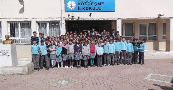 Kozçeşme İlkokuluna Kırtasiye Yardımı