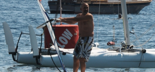 Mehmet Aslantuğ'dan Sörf Şov
