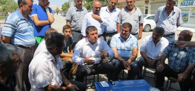 Milletvekili Ağbaba'dan Nakliyatçılar Sitesi'ne Ziyaret