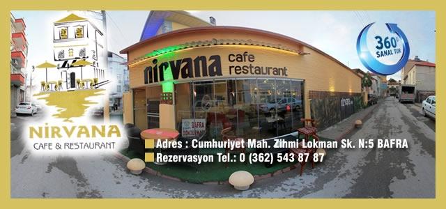 Nirvana Cafe & Restaurant Sanal Tur Uygulaması