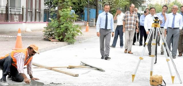 Samsun Büyükşehir Belediyesi Havza'da Yolları  Yeniliyor