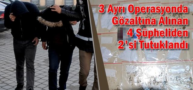 Samsun'da Uyuşturucu Operasyonu; 2 Kişi Tutuklandı