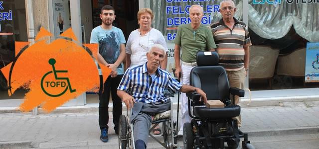 Şehit Babası; Engelli Aracı'na Kavuştu